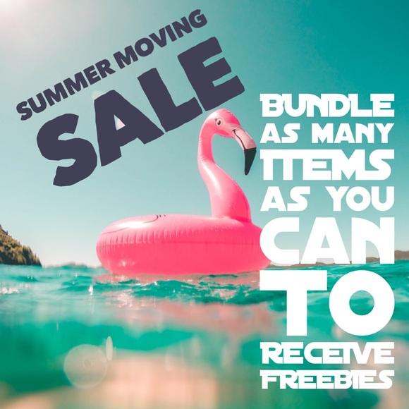 Moving SALE Summer discounts & freebies 4 grabs